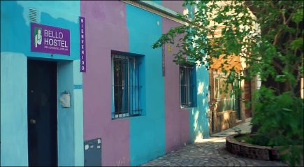 Lodging in Buenos Aires: Bello Hostel, Villa del Parque, Buenos Aires