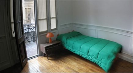 Lodging in Buenos Aires: Casa Holanda Residence, Downtown, Buenos Aires