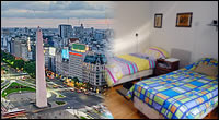 Hostels by neighbourhood in Buenos Aires