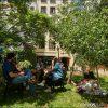 Patio y Jardín en Entis Residencia Universitaria, San Telmo, Buenos Aires