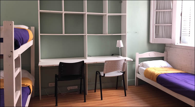 Alojamiento para estudiantes en Buenos Aires: Residencia Universitaria La Casona, Monserrat, Buenos Aires