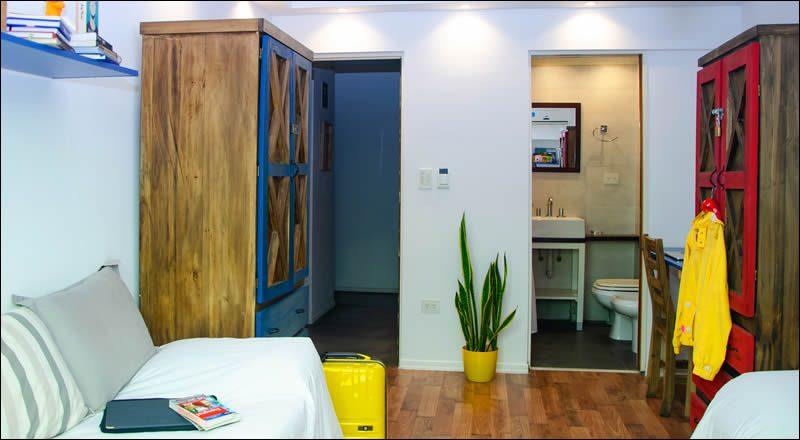 Alojamiento para estudiantes en Buenos Aires: Menlo Park Student House, Palermo, Buenos Aires