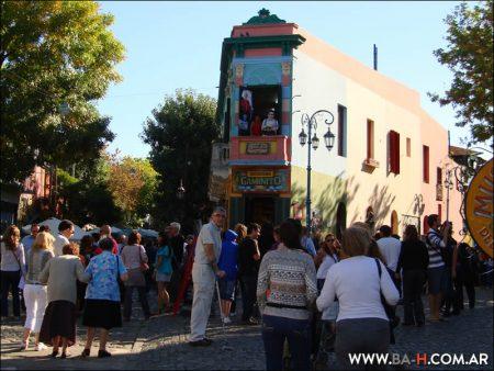 Caminito, city tour Buenos Aires