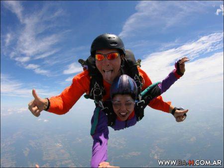 Salto en Paracaídas en Buenos Aires, parapente