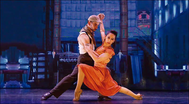 Madero Tango, Tango en Buenos Aires