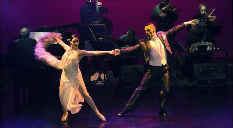 Piazzolla Tango, Tango en Buenos Aires