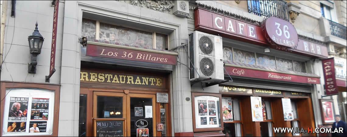 Los 36 Billares, bares notables de Buenos Aires