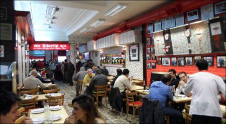 Pizzería Güerrin, Centro de Buenos Aires