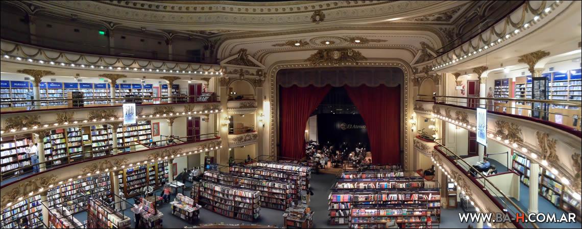 Librería El Ateneo Grand Splendid, Recoleta, Buenos Aires