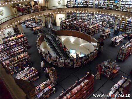 Librería El Ateneo Grand Splendid, vista aérea