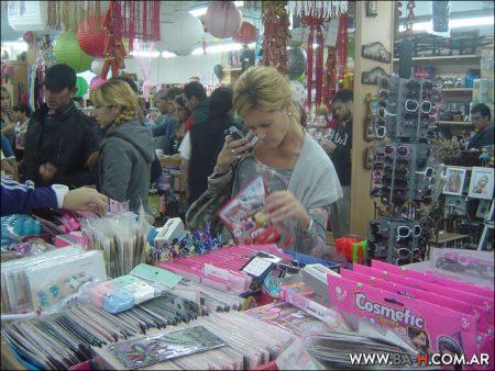 Hacer compras en Barrio Chino