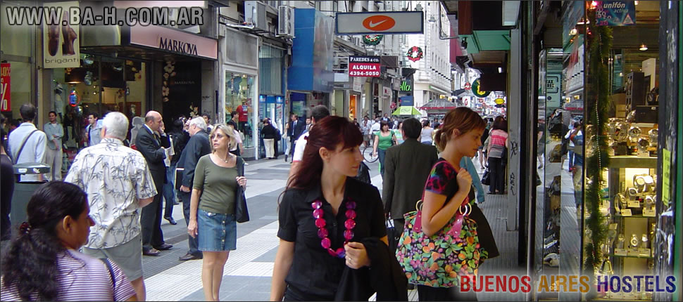 Calle Florida, Centro de Buenos Aires