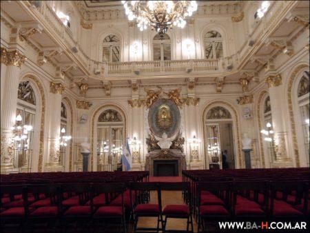 Salón Dorado de la Casa Rosada