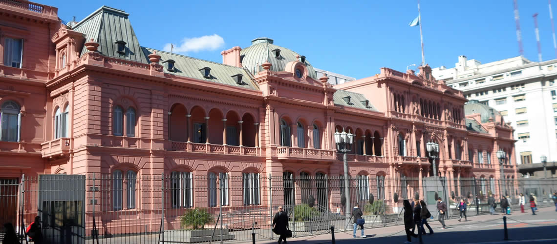 Color de la Casa Rosada: Curiosidades de Buenos Aires