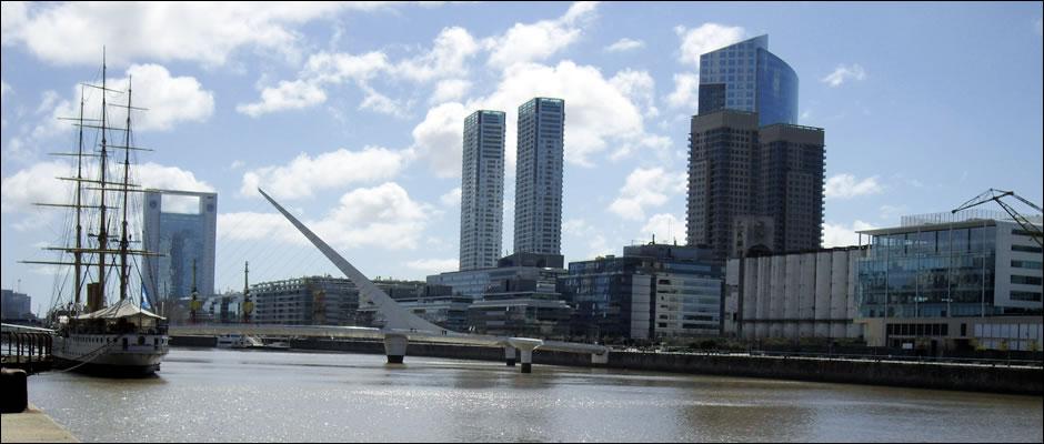 Fin de semana en Buenos Aires: Puente de la Mujer, Puerto Madero, Buenos Aires