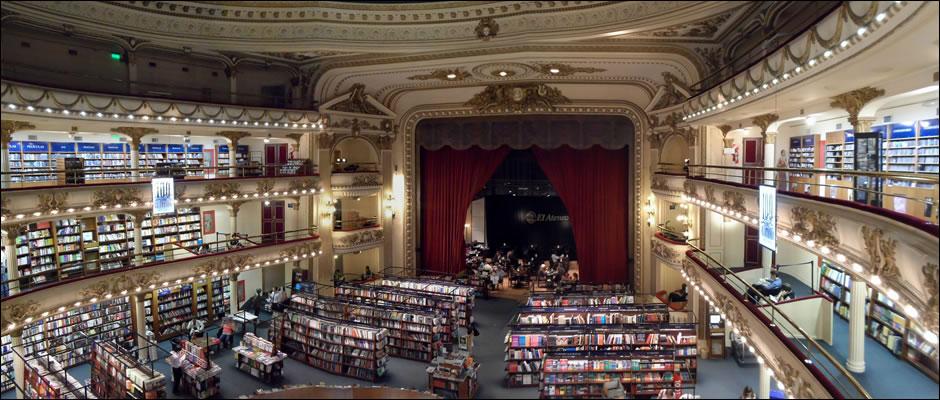 llueve en Buenos Aires: Librería El Ateneo Grand Splendid
