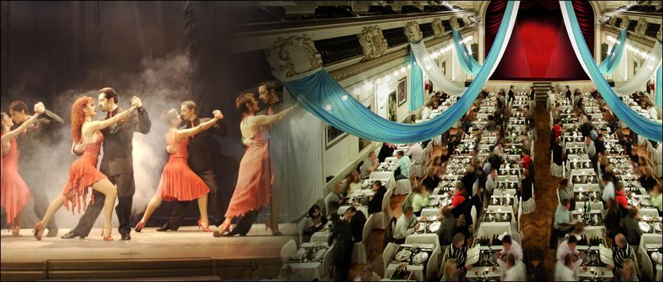 llueve en Buenos Aires: Tango, Cena Show de Tango