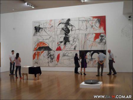 Exposición en el El Malba, Museo de Arte Latinoamericano de Buenos Aires