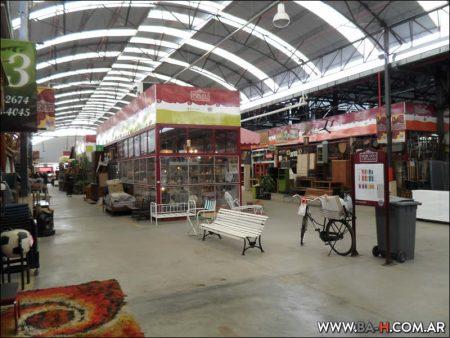 Mercado de Pulgas el Dorrego, pasillos