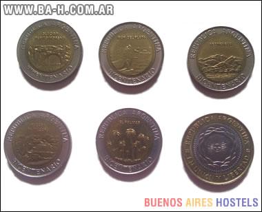 Las monedas de $1 y $2 del Bicentenario
