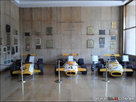 Autos de Reutemann en el Museo del Automóvil Club Argentino