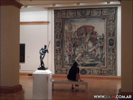 Museo Nacional de Bellas Artes, cuadros, exposiciones