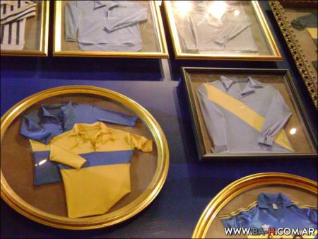 Objetos del Museo de Boca Juniors, Buenos Aires