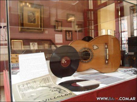 Guitarra de Carlos Gardel, Museo