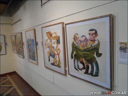 Exposición en el Museo del Humor