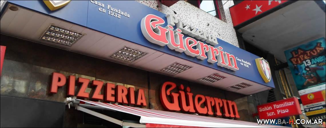 Pizzería Güerrín, pizzerías clásicas de Buenos Aires