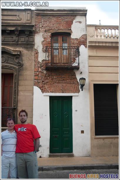 La Casa Mínima, San Telmo, Curiosidades de Buenos Aires