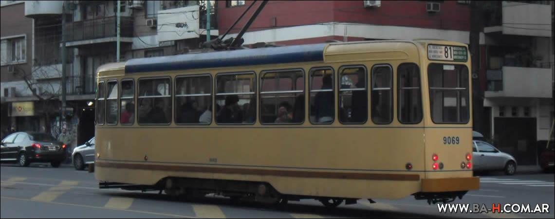 Tranvía Histórico de Buenos Aires, Caballito