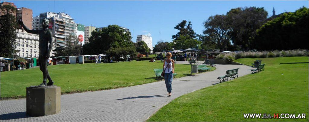Hostels cerca de plazas, parques y plazas de Buenos Aires