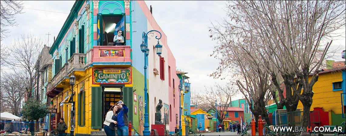Qué hacer en Mayo en Buenos Aires: ir a Caminito