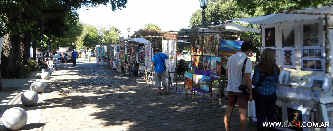 Feria Artesanal de Plaza Francia, Buenos Aires