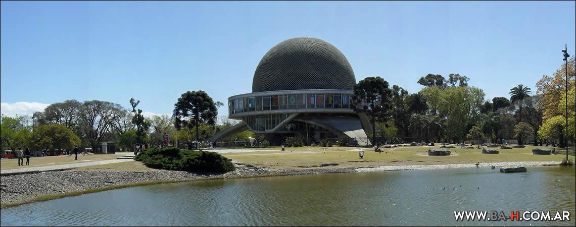 Recorrido a pie por Palermo : Planetario Galileo Galilei