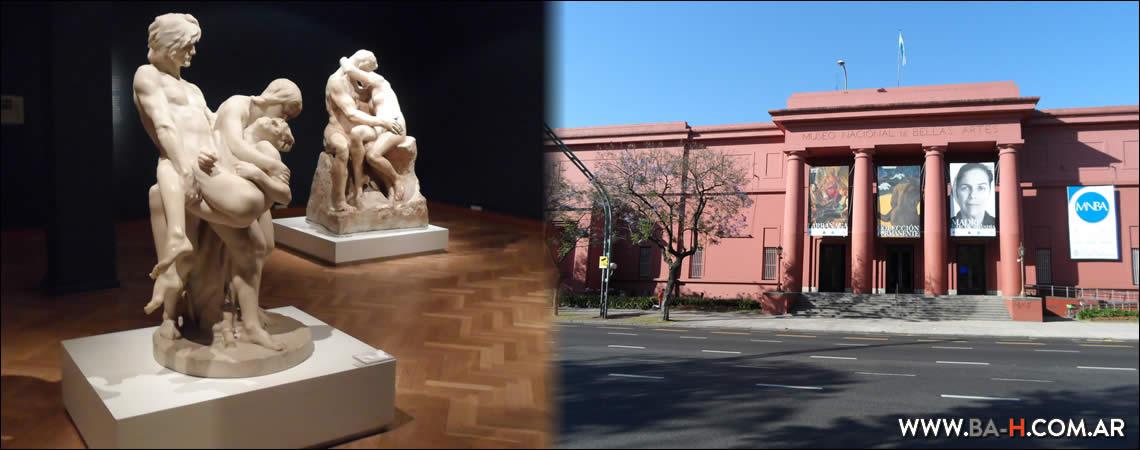 Recorrido a pie por Recoleta: Museo Nacional de Bellas Artes