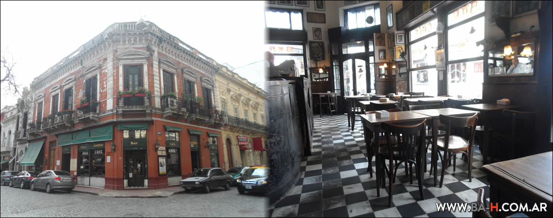 Recorrido a pie por San Telmo: Bar El Dorrego