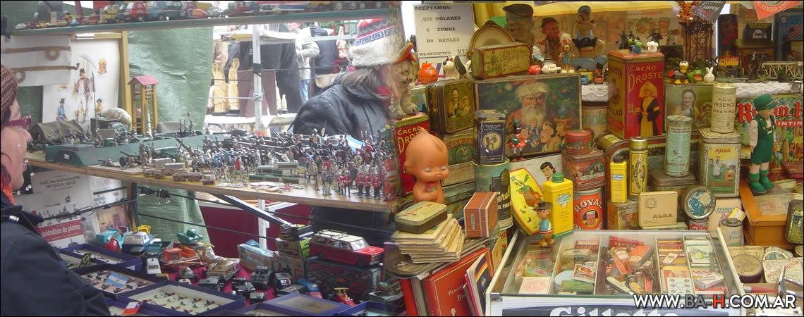 Recorrido a pie por San Telmo: Feria de Antigüedades de San Telmo