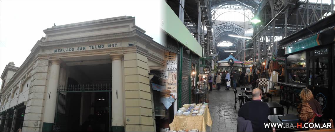 Recorrido a pie por San Telmo: Mercado de San Telmo