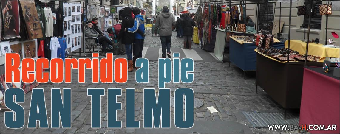 Recorrido a pie por San Telmo, Buenos Aires