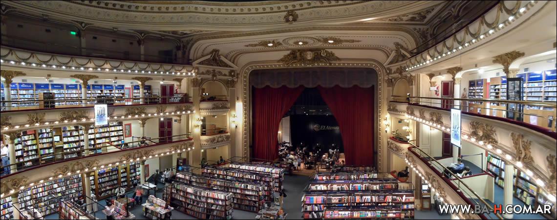 101 cosas sobre Buenos Aires Librería El Ateneo Grand Splendid