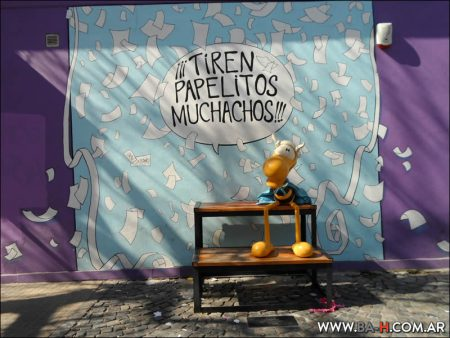 101 cosas sobre Buenos Aires Paseo de la Historieta