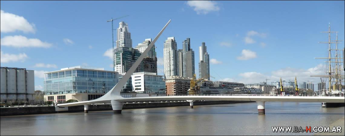 101 cosas para hacer en Buenos Aires Puente de la Mujer