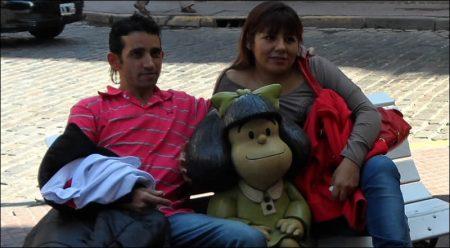 Adónde está la estatua de Mafalda