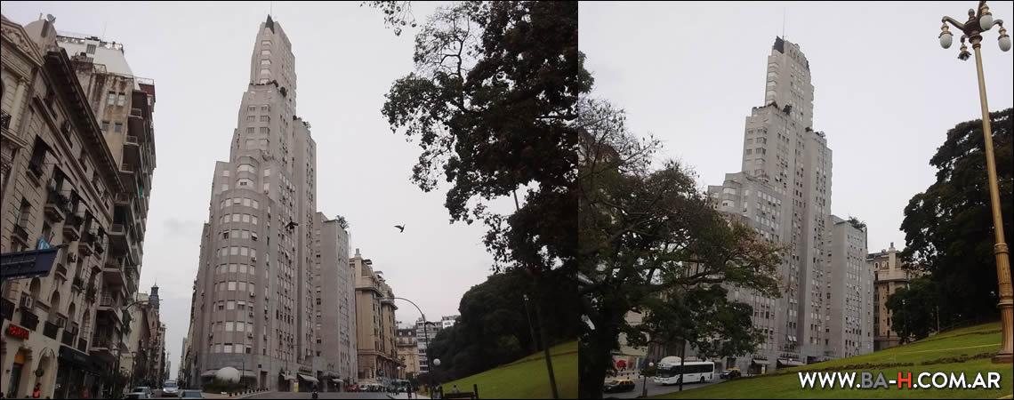 Edificio Kavanagh frente a la Plaza San Martín, Retiro, Buenos Aires