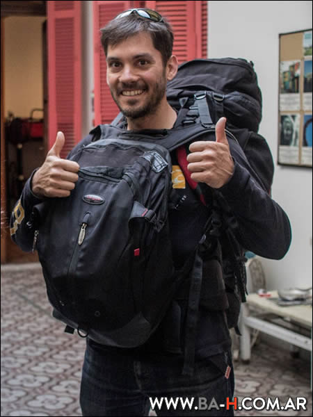 Backpack, mochila de viajes