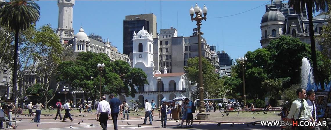 Una semana en Buenos Aires, lunes