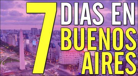 Una semana en Buenos Aires, qué hacer