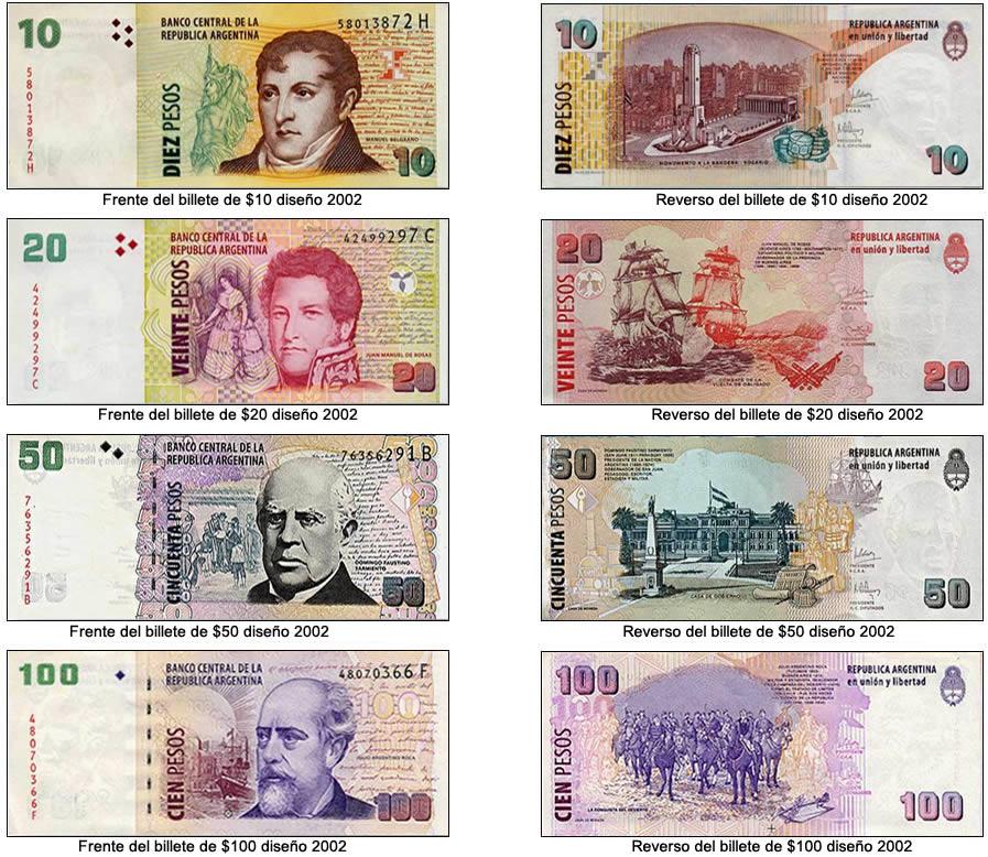 Serie 2002 de billetes argentinos